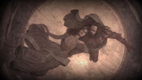 Dracula Painting